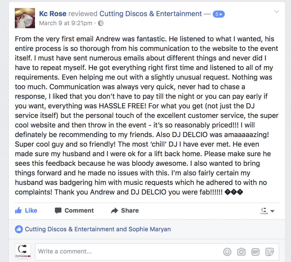 disco review