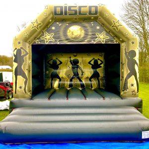 12x15ft Disco Castle Gold & Black