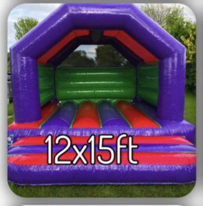 12x15ft kids castle