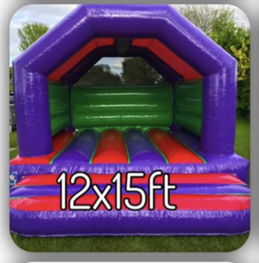12x15ft kids castle